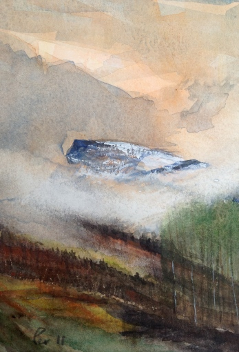 Nibba! - 18x24, akvarell