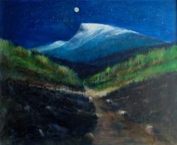 Gamleveien, Nibba og fullmånen 65x54