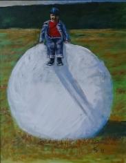 Rundballepjokken (50x40 cm)